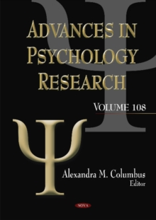 Advances in Psychology Research : Volume 108, Hardback Book