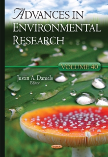 Advances in Environmental Research : Volume 40, Hardback Book