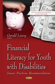 Financial Literacy for Youth with Disabilities : Issues, Practices, Recommendations, Hardback Book