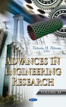 Advances in Engineering Research : Volume 14, Hardback Book