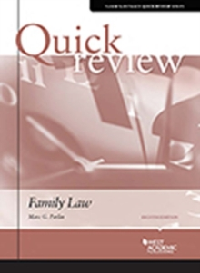 Sum and Substance Quick Review of Family Law, Paperback / softback Book