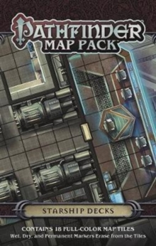 Pathfinder Map Pack: Starship Decks, Game Book