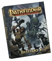 Pathfinder Roleplaying Game: Bestiary 4 Pocket Edition, Paperback Book