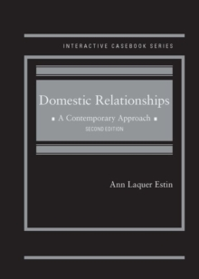 Domestic Relationships : A Contemporary Approach, Hardback Book