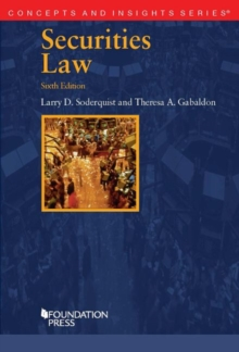 Securities Law, Paperback / softback Book