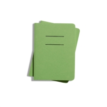 Shinola Journal, Paper, Ruled, Green (3.75x5.5) : Pack of 2, Paperback / softback Book