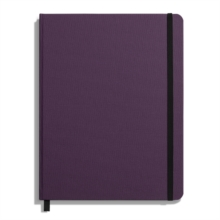 Shinola Journal, HardLinen, Ruled, Dark Purple (7x9), Hardback Book
