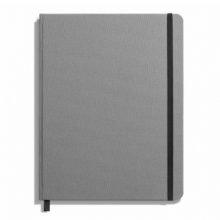 Shinola Journal, HardLinen, Ruled, Light Gray (7x9), Hardback Book