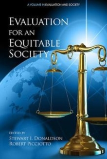 Evaluation for an Equitable Society, Paperback / softback Book