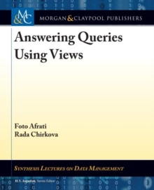 Answering Queries Using Views, Paperback / softback Book
