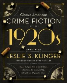 Classic American Crime Fiction of the 1920s, Hardback Book