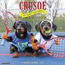 Crusoe the Celebrity Dachshund 2019 Wall Calendar (Dog Breed Calendar), Calendar Book