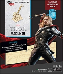 IncrediBuilds: Marvel: Avengers: Thor 3D Wood Model and Book, Kit Book
