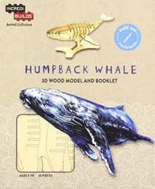 IncrediBuilds Animal Collection: Humpback Whale, Kit Book