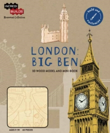 IncrediBuilds Monument Collection: London : Big Ben, Kit Book