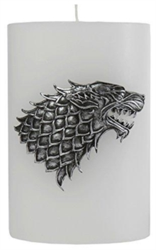 Game of Thrones House Stark Sculpted Insignia Candle, Other printed item Book