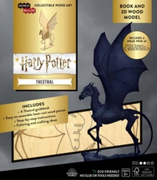 IncrediBuilds: Harry Potter : Thestral Book and 3D Wood Model, Kit Book
