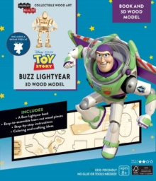 IncrediBuilds: Toy Story: Buzz Lightyear Book and 3D Wood Model, Kit Book