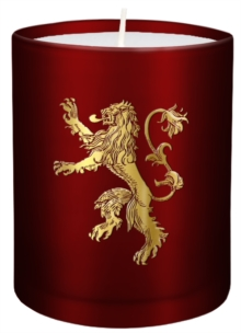Game of Thrones: House Lannister Large Glass Candle, Other printed item Book