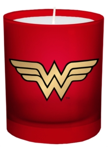 DC Comics: Wonder Woman Large Glass Candle, Other printed item Book