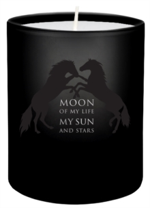 Game of Thrones: Moon of My Life Glass Votive Candle, Other printed item Book