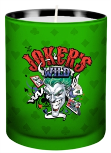 DC Comics: Joker Glass Votive Candle, Other printed item Book