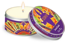 Harry Potter: Weasley's Wizard Wheezes Scented Candle : Large, Cinnamon 5.6 oz, Other printed item Book