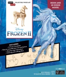 IncrediBuilds: Disney Frozen 2: Water Nokk Book and 3D Wood Model : Adventures of Arendelle, Kit Book