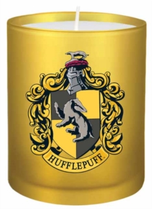 Harry Potter: Hufflepuff Glass Votive Candle, Other printed item Book