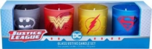 DC Comics: Justice League Glass Votive Candle Set : Set of 4, Other printed item Book