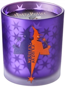 Harry Potter: Weasleys' Wizard Wheezes Glass Candle, Other printed item Book
