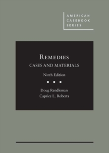 Remedies, Cases and Materials, Hardback Book