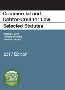Commercial and Debtor-Creditor Law Selected Statutes : 2017 Edition, Paperback / softback Book