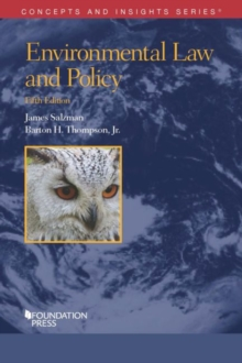 Environmental Law and Policy, Paperback / softback Book