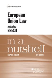 European Union Law Including Brexit in a Nutshell, Paperback / softback Book