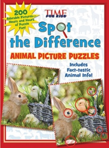 Spot the Difference Animal Picture Puzzles : 200 Adorable Pictures - Hours and Hours of Puzzle Fun, Paperback Book
