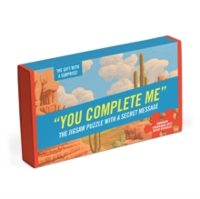 You Complete Me Message Puzzle, Jigsaw Book