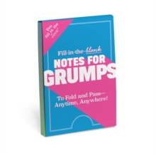 Knock Knock Fill in the Love Notes for Grumps, Other printed item Book