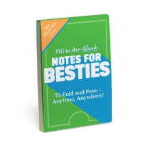 Knock Knock Fill in the Love Notes for Besties, Other printed item Book