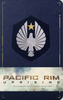 Pacific Rim Uprising Hardcover Ruled Journal, Hardback Book