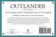 Outlander Crest: Foil Note Cards (Set of 10), Hardback Book