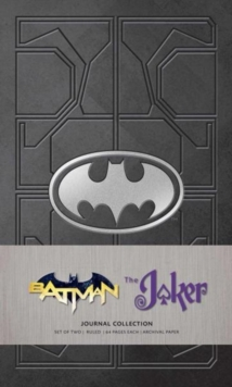 DC Comics: Character Journal Collection : Batman and Joker Set of 2, Paperback / softback Book
