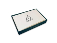 Harry Potter: Deathly Hallows Foil Note Cards : Set of 10, Kit Book