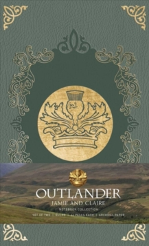 Outlander: Notebook Collection : Jamie and Claire Set of 2, Notebook / blank book Book