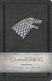 Game of Thrones: House Stark Ruled Notebook, Paperback / softback Book