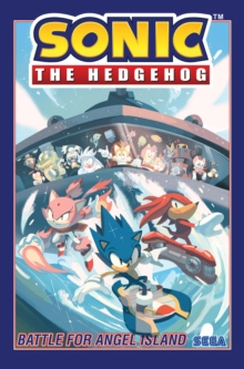 Sonic The Hedgehog, Vol. 3 Battle For Angel Island, Paperback / softback Book
