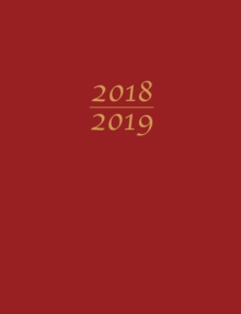Large 2019 Planner Red, Paperback / softback Book