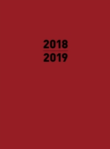 Small 2019 Planner Red, Paperback / softback Book