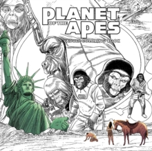 Planet of the Apes Adult Coloring Book, Paperback / softback Book