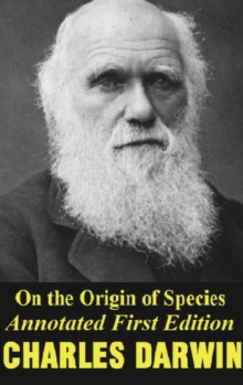 On the origin of species (Annotated) first edition, Hardback Book